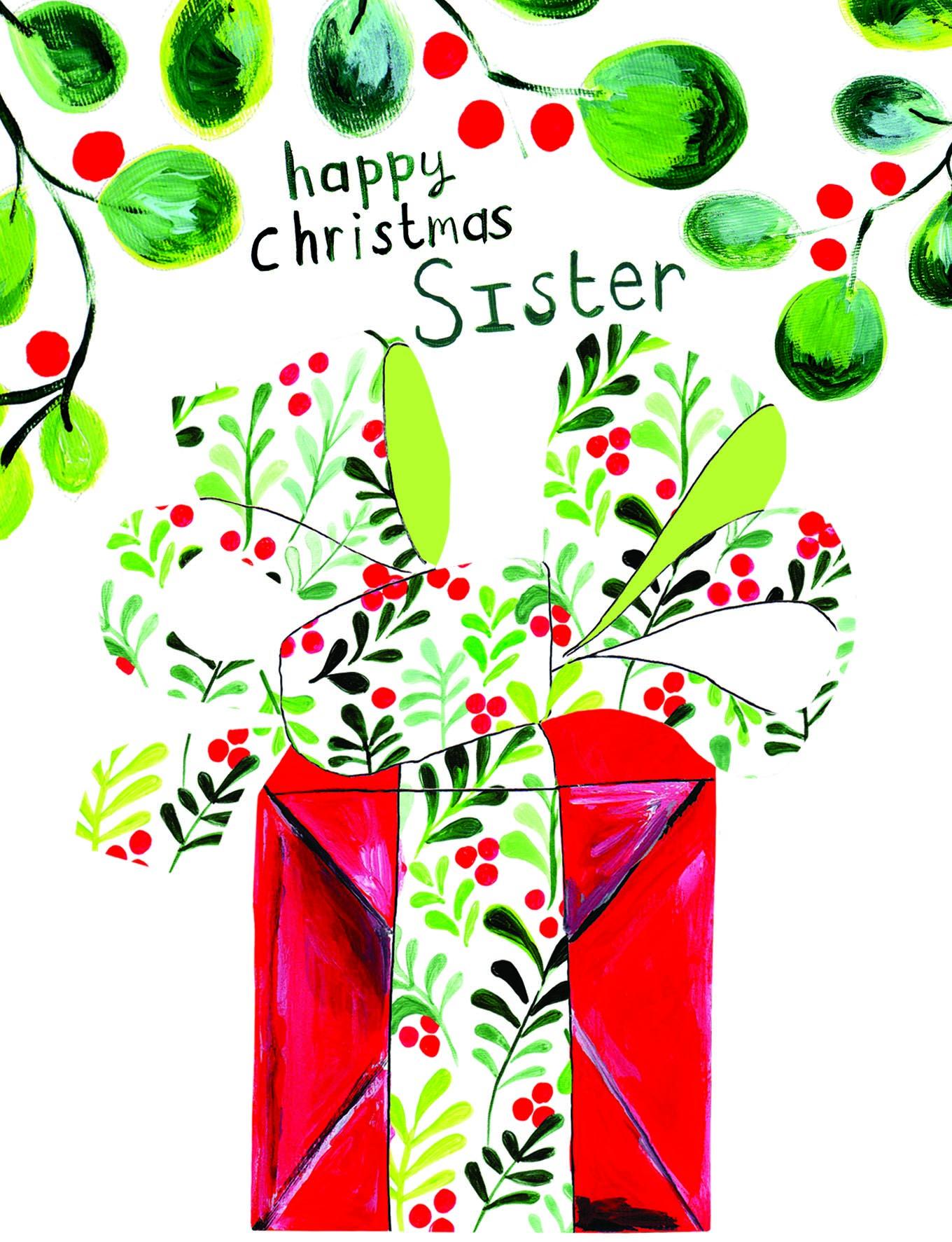 Merry Christmas Sister.Merry Christmas Sister Card