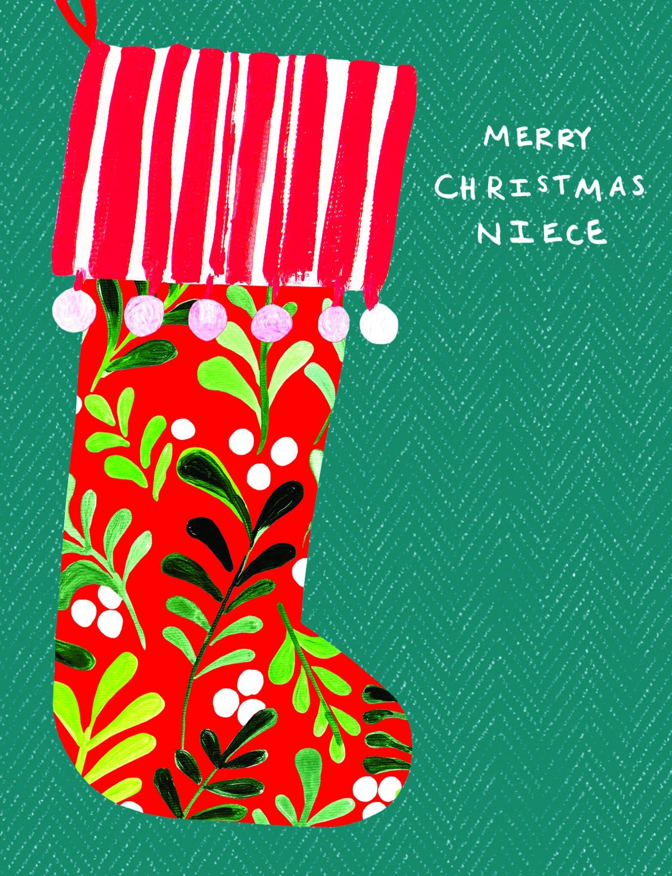 Merry Christmas Niece.Merry Christmas Niece Card