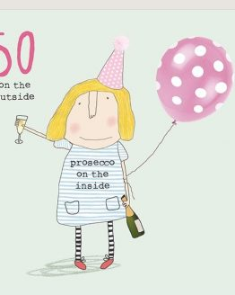 Prosecco 50th Birthday Card Funny Buy Cards Online
