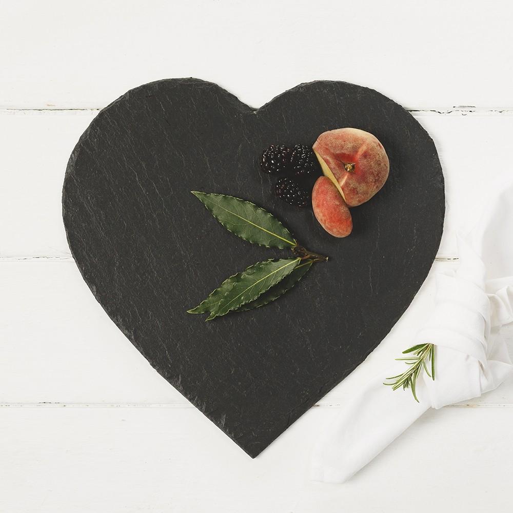 Just Slate Heart Cheese Board